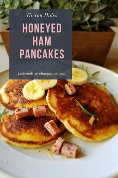 Honeyed Ham Pancakes