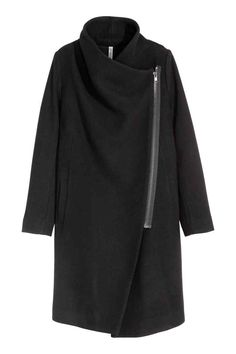 Abrigo en mezcla de lana   H&M