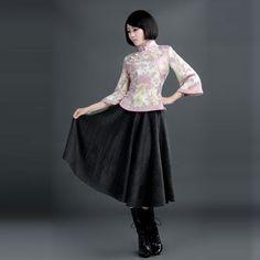 2e14ac2866 ROC Style Woolen Skirts Grey. VENTdeCHINE · CHEONGSAM