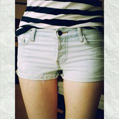 Light-colored Denim Shorts These shorts look great with just about anything :) Forever 21 Shorts
