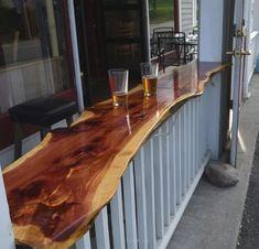 25 Clever Outdoor Bar Ideas to Steal for Your Own Backyard bar ideas backyards Outdoor Patio Bar, Outdoor Kitchen Bars, Backyard Bar, Outdoor Living, Outdoor Bars, Outdoor Bar Areas, Outdoor Wooden Bar, Outdoor Bar And Grill, Bar Kitchen