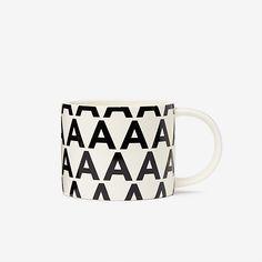 A Initial Mug - Kate Spade Saturday