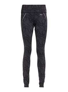 Exclusively from I.FIV5     From our matching sports collection   Face cool days with this legging, perfect for outdoor training   Soft microfibre with polar fleece lining   Reflective details for better visibility   Bandeau waist with covered elastic and inner drawstring   Elastic zip ankle with hidden silicon band for a perfect fit