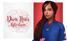 Diva Hair by Retextured - Dread and Braid version. Dread and Braid Versions; Comes will all 16 EA hair colors; Dont repost/use as your own creation. Tag for me to see your sims with my cc. Sims 4 Mac, Sims 1, Sims 4 Cas Mods, The Sims 4 Cabelos, Sims 4 Characters, Sims Four, Toddler Hair Bows, Hair Pack, Sims 4 Cc Finds