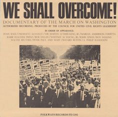 """On August 28th, 1963, more than 250,000 people from across the United States gathered in Washington DC to join in peaceful protest against racial segregation and demand equal rights legislation from Congress. This radio broadcast features performances by Joan Baez, Odetta, Bob Dylan, Peter, Paul & Mary, and Marian Anderson, and features Martin Luther King Jr's inspiring """"I Have a Dream"""" speech."""