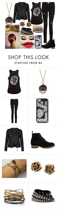 """""""Scarlett gets stuck in a meat locker"""" by aussie-wannabe ❤ liked on Polyvore featuring Lucky Brand, We Are All Smith, Frame Denim, Keds, AllSaints, ASOS, Tiffany & Co. and Michelle Oh"""