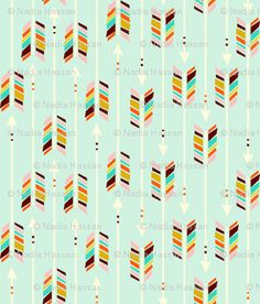 I *heart* this fabric so much! (wish i could afford it!)