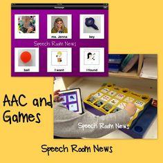 Speech Room News: iPad AAC + Games.