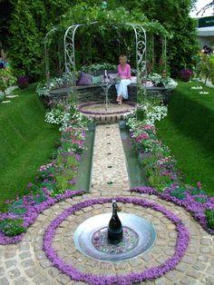 Cute Little Love Garden ! - http://mostbeautifulgardens.com/cute-little-love-garden/