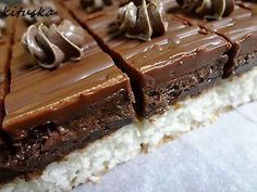 Extra čokoládová torta bez múky, cukru a pečenia - Recept Baking Recipes, Cake Recipes, Dessert Recipes, Czech Recipes, Baking With Kids, Pastry Cake, Sweet Cakes, No Bake Cake, Easy Desserts