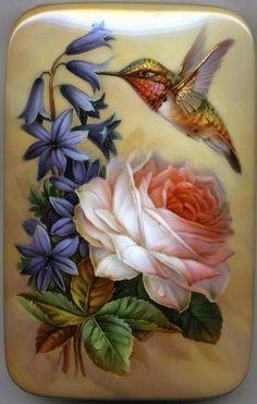Risultati immagini per oleg gavrilov art Hummingbird Pictures, Hummingbird Art, Beautiful Fantasy Art, Beautiful Birds, Bird Artists, Image Nature, China Painting, Flower Wallpaper, Pictures To Paint
