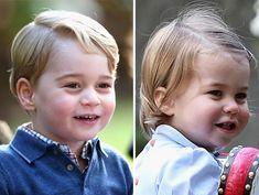 Semelhança entre Princesa Charlotte e Príncipe George impressiona
