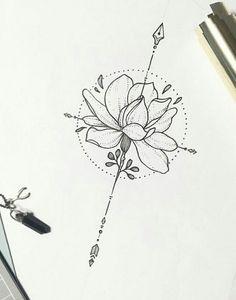 The love between one person to another - Flower Tattoo Designs - Mandala Tattoo Design, Dotwork Tattoo Mandala, Flower Tattoo Designs, Tattoo Drawings, Body Art Tattoos, Small Tattoos, Sleeve Tattoos, Pretty Tattoos, Cool Tattoos