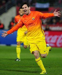 La Liga: Messi scores 300th goal for Barcelona in win over Granada