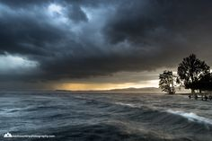 #thunderstorm #zugersee Thunderstorms, Clouds, Explore, Landscape, Switzerland, Beach, Water, Photography, Outdoor