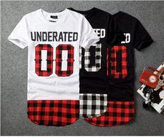 Aliexpress.com: Comprar Underated Bandana hombres de extendida camisetas de hombre Skateboard elemento t shirt Hip Hop camiseta ropa Streetwear de ropa de ferrocarril fiable proveedores en 33 Ellen's Store