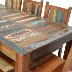 Image result for reclaimed tables Reclaimed Furniture, Tables, Image, Home Decor, Mesas, Decoration Home, Room Decor, Reclaimed Wood Furniture, Table