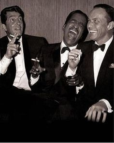 The Rat Pack. Sammy Davis Jr, Dean Martin, James Dean, Hollywood Glamour, Classic Hollywood, Old Hollywood, Franck Sinatra, Films Cinema, I Love Cinema