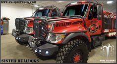 Bulldog Fire Brush Trucks