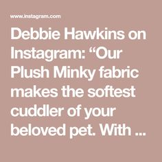 "Debbie Hawkins on Instagram: ""Our Plush Minky fabric makes the softest cuddler of your beloved pet. With a longer pile, it's fur like appearance makes for a great…"" Best Gifts For Grandparents, Gifts For Family, Gifts For Friends, Gifts For Him, Cat Lover Gifts, Cat Gifts, Cat Lovers, Customised Gifts, Personalized Gifts"