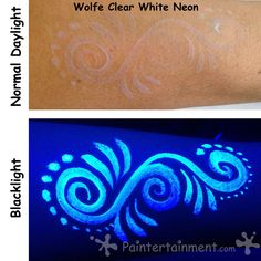 Paintertainment: Neon, Fluorescent, UV, Dayglow...What Does It All Mean?! (And LOOK like in terms of Face Paint?)