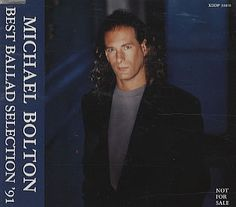 For Sale - Michael Bolton Best Ballad Selection Japan Promo  CD album (CDLP) - See this and 250,000 other rare & vintage vinyl records, singles, LPs & CDs at http://991.com
