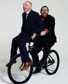 Simon Pegg and Nick Frost <3!