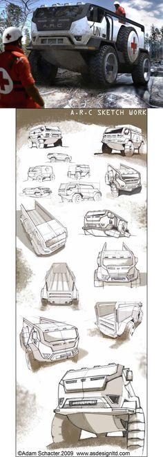 Hauler Concept Drawings.