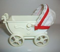 Vintage-Toy-Baby-Doll-Carriage-Stroller-Plastic-Simba-Toys
