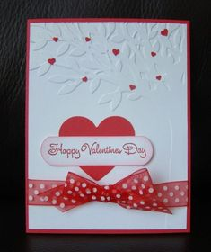 Stampin Up Valentine Cards | Stampin Up Handmade Valentine 4 Card Kit w Sample with Embossing ... by lasttime