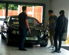 One Direction's Zayn Malik splashes out on a 32,000 thousand pound Bentley Continental GT