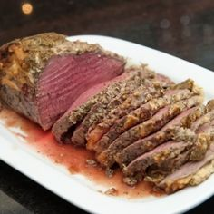 Tender roast beef with tangy horseradish and dill.