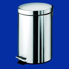 Find, Shop for and Buy Nameeks 2709-13 Round Waste Bin with Pedal at QualityBath.com for $60.45