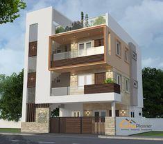 House Outer Design, Best Modern House Design, Modern Exterior House Designs, House Front Design, House Outside Design, Indian House Exterior Design, 3 Storey House Design, Bungalow House Design, West Facing House