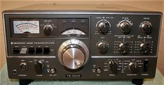 Kenwood TS-520s HF Hybrid Base HAM radio.