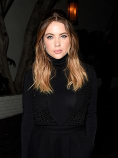 Actress Ashley Benson attends the W Magazine celebration of the 'Best Performances' Portfolio and The Golden Globes with Audi and Dom Perignon at...