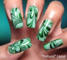 Interesting nail polish