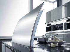 Glass and Stainless Steel downdraft FUTURA by GUTMANN
