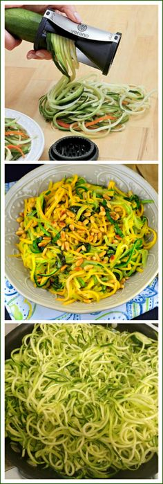 Favorite New Kitchen Gadget ( Vegetable Noodle Maker - Zucchini Spaghetti.