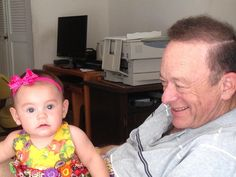 Patience my niece with great grandpa!