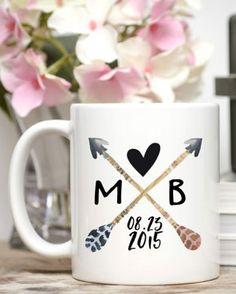 Custom engagement mug