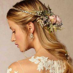 bhldn gilt wire wreath