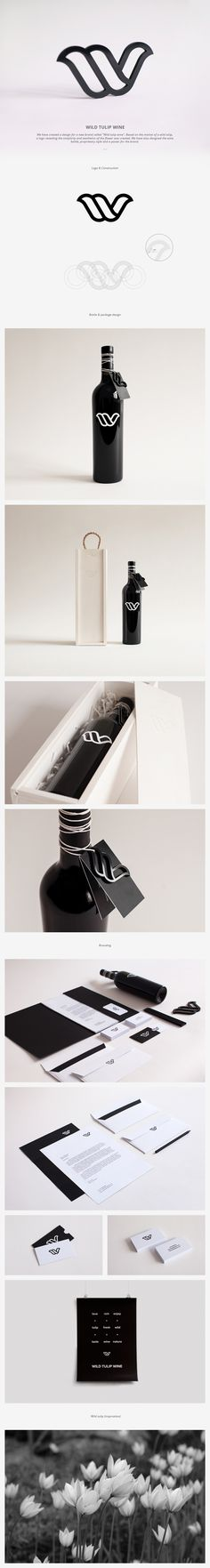 Tulip #wine #packaging #branding PD