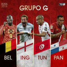 #GroupG #WorldCup2018 #Fan360 @England World Cup 2018 Groups, Soccer World Cup 2018, World Football, Fifa World Cup, Football Team, Thibaut Courtois, Antoine Griezmann, World Cup Champions, Champions League