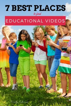 7  Best Places to Find Educational Videos for Your Kids - There is so much great educational content out there, but digging through it can be a little overwhelming.  So I've done the digging for you! Here are the 7 Best Places to Find Educational Videos for Your Kids #StraightTalkSchool #ad