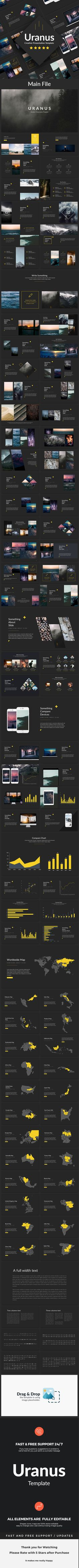 Uranus - Creative Powerpoint Template