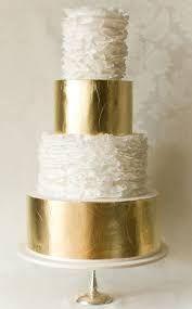 Image result for rustic gold leaf cake