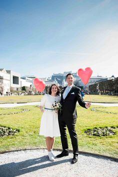 Hochzeitsfotograf Salzburg - standesamtliche Trauungen Schloss Mirabell Dresses, Fashion, Creative Pictures, Registry Office Wedding, Cordial, Getting Married, Marriage, Vestidos, Moda
