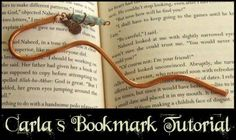 Copper bookmark tutorial