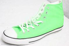 Converse 114060 CT Spec HI Gr. 46.5 Neon Green Grün Damen Herren Sneaker